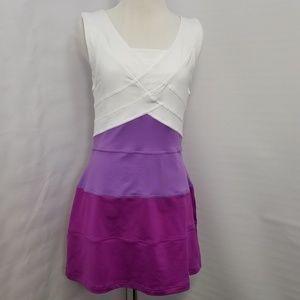 Nike Dri-fit Dress Purple/White Women Size M